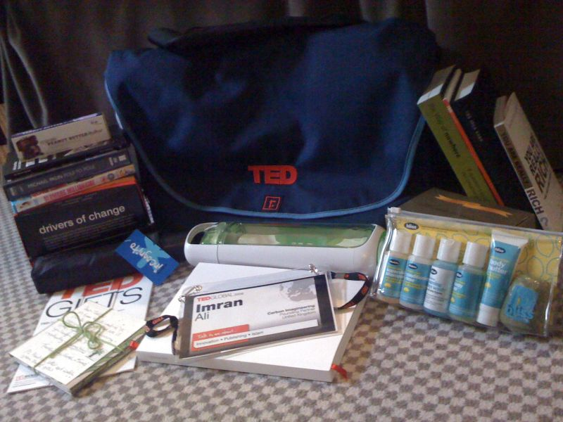 Imran ali the ted gift bag gift bag negle Choice Image